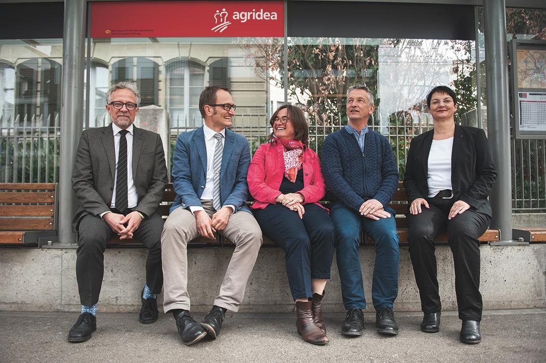 Gruppenfoto der Geschäftsleitung