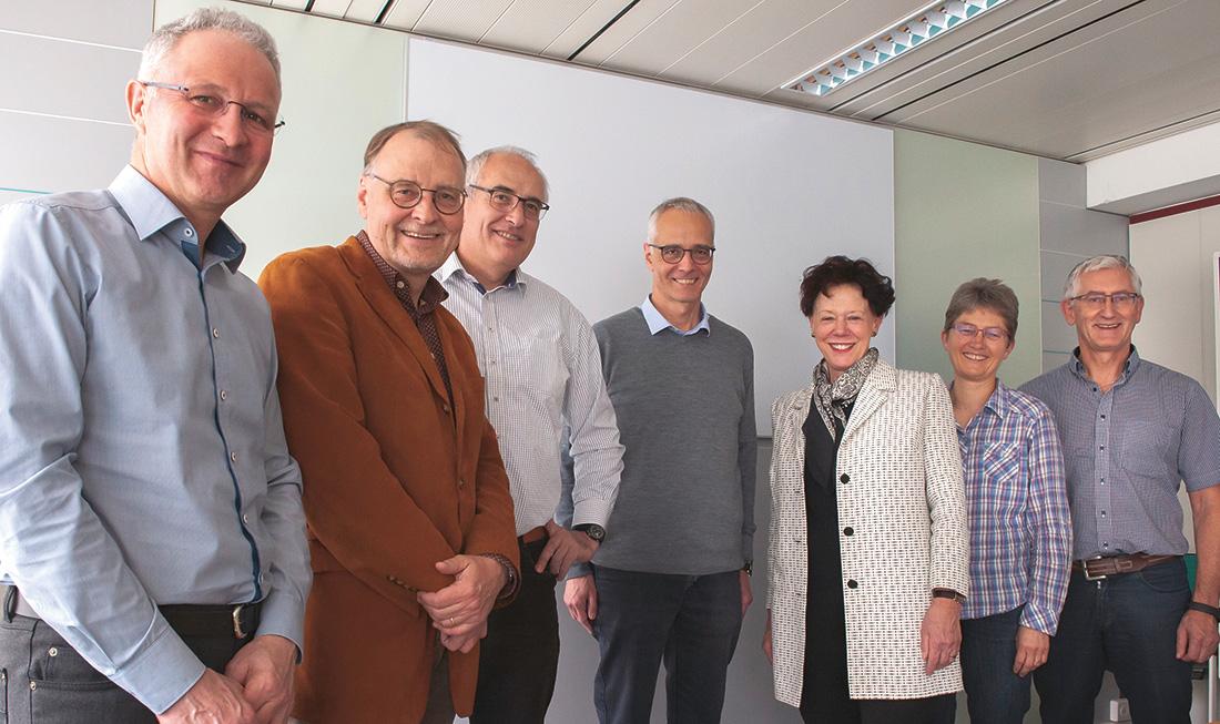 Gruppenfoto des Vorstands